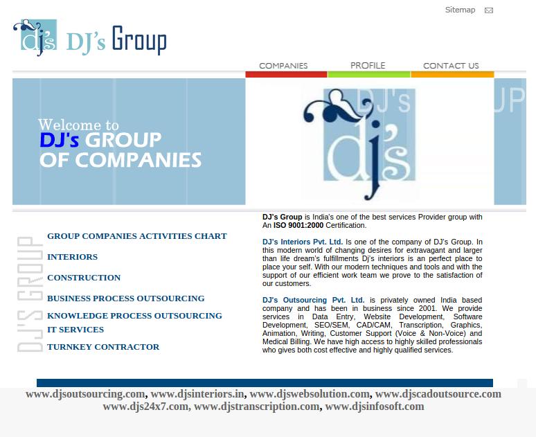 Dj's Group - Website Design, Software Development - DJ's Outsourcing